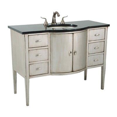 """Sterling Bowfront 48"""" Single Bathroom Vanity"""