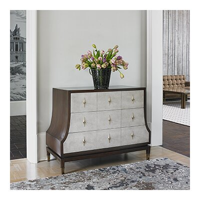 Tapered 3 Drawer Accent Chest