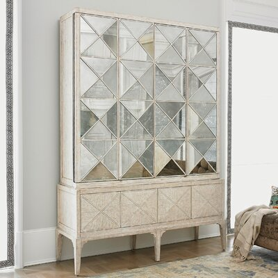 Escher 6 Door Accent Cabinet