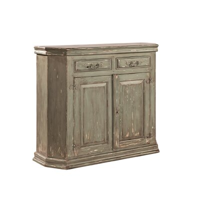 Mitre Corner 2 Door 2 Drawer Accent Cabinet
