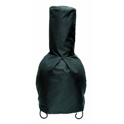 "Winter Coat Chiminea Cover Size: 115"" H x 56.5"" W x 56.5"" D"