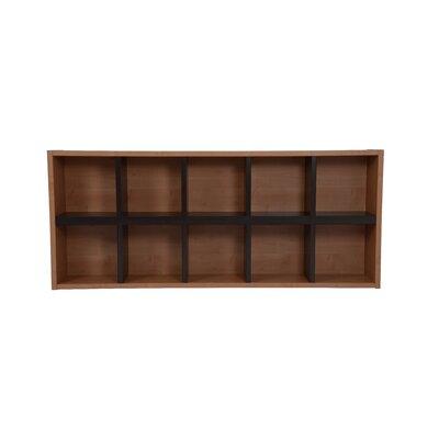 Techny Avery Cube Unit Bookcase Color: Maple / Espresso