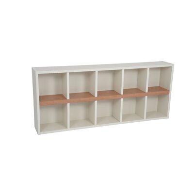 Techny Avery Cube Unit Bookcase Color: Cream / Maple