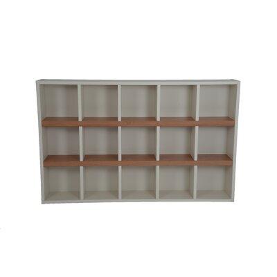 Techny Turner Cube Unit Bookcase Color: Cream / Maple