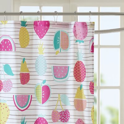 Mosley Cotton Shower Curtain