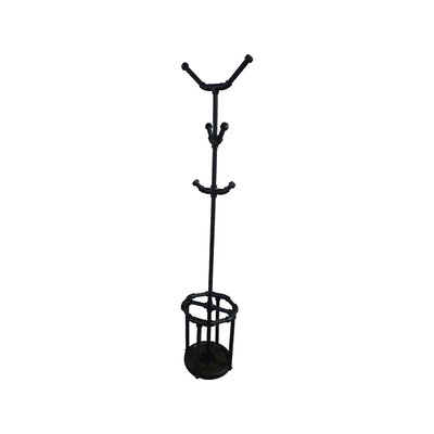 San Antonio Coat Rack Color: Black / Dark Brown
