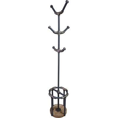 San Antonio Coat Rack Color: Rustic Bronze / Light Brown
