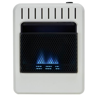 10,000 BTU Natural Gas/Propane Heater with Automatic Thermostat