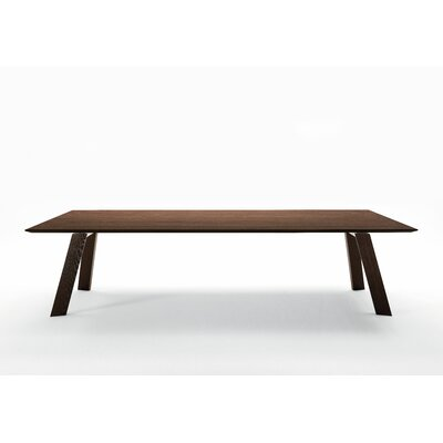 "Toronto Extendable Dining Table Size: 29.9"" H x 39.4"" W x 118.1"" L"