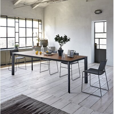 """Blade Extendable Dining Table Size: 29.5"""" H x 35.4"""" W x 90.6"""" L"""