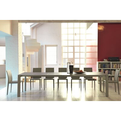 """Ghedi Extendable Dining Table Size: 29.5"""" H x 35.4"""" W x 122"""" L"""