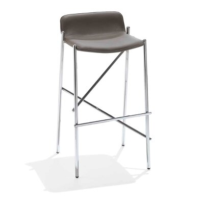 """Trampoliere 29.5"""" Bar Stool Upholstery: Sand"""
