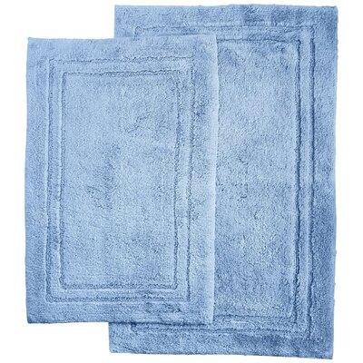 Thackeray 2 Piece Bath Rug Set Color: Light Blue