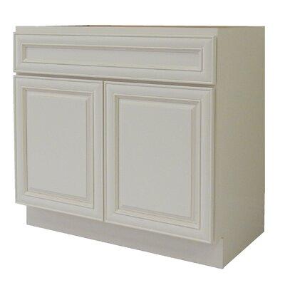 "Cabinet 36"" Single Bathroom Vanity Base"