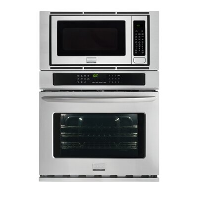 30'' Convection Electric Wall Oven Color: Silver