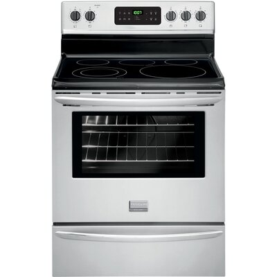 "30"" Free-standing Electric Range Color: Silver"