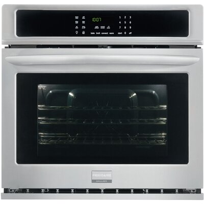"30"" Convection Electric Single Wall Oven Color: Silver"