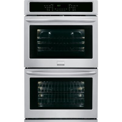 27'' Convection Electric Double Wall Oven Color: Silver