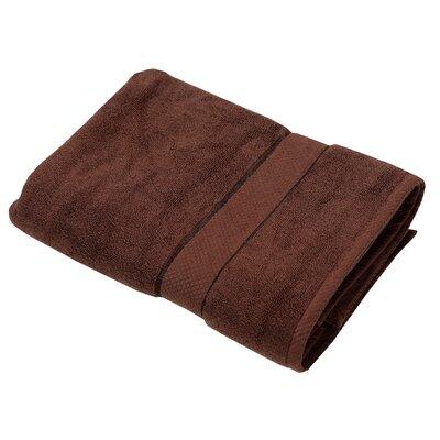 Luxurious Egyptian Quality Cotton Bath Towel Color: Chocolate