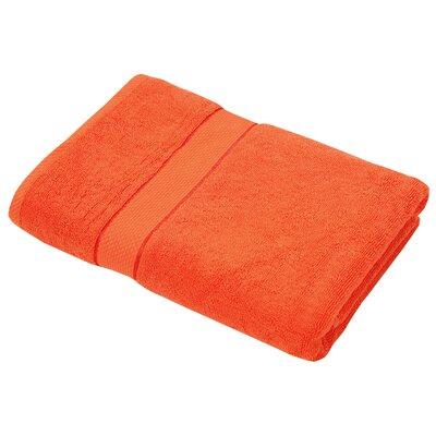 Luxurious Egyptian Quality Cotton Bath Towel Color: Orange