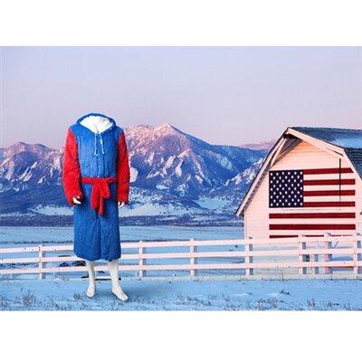 Brotoga American Buffalo Baller Version Bathrobe Size: Medium