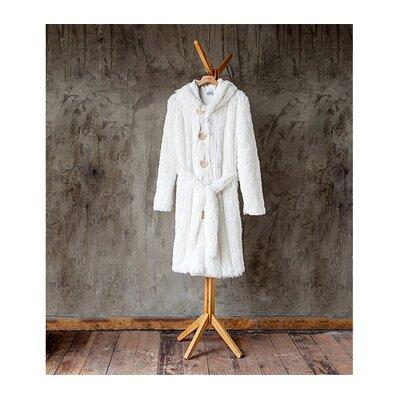 Brotoga Purity Baller Version Bathrobe Size: Medium, Color: White