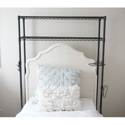 """Supreme 67"""" H x 44"""" W Over the Bed Shelf"""