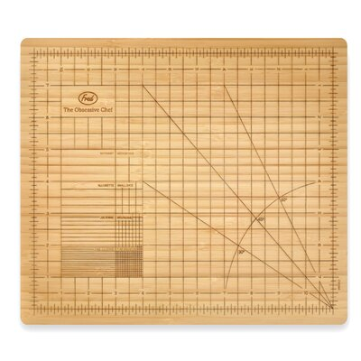Obsessive Chef Bamboo Cutting Board