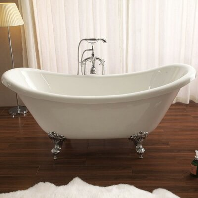 "Nova 30"" x 67"" Freestanding Soaking Bathtub"