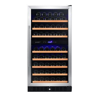 89 Bottle Dual Zone Convertible Wine Cooler