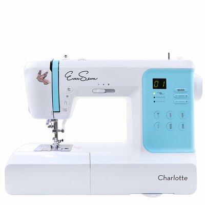 Charlotte 70-Stitch Computerized Electronic Sewing Machine