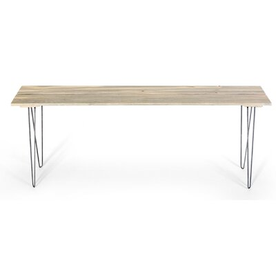 Slat Style Entry Table