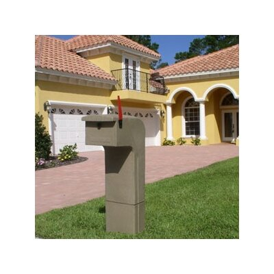 Locking Column Box Color: Sandstone