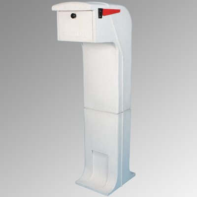 Locking Column Box Color: White