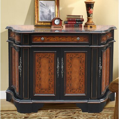Ceron Wooden 3 Drawer Accent Cabinet