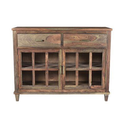 Koch Wood 2 Drawer Accent Cabinet Color: Natural