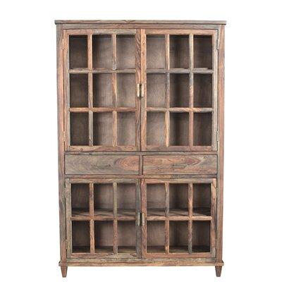Belmont 2 Drawer 4 Door Accent Cabinet Color: Natural