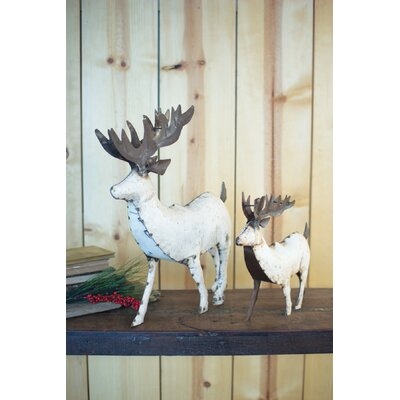 Recycled Metal Reindeer Size: Large