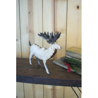 Recycled Metal Reindeer Size: Small