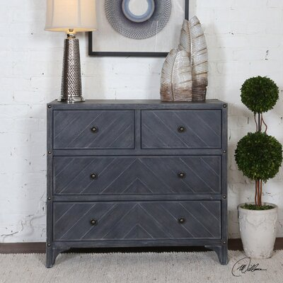 Philippe 4 Drawer Accent Chest