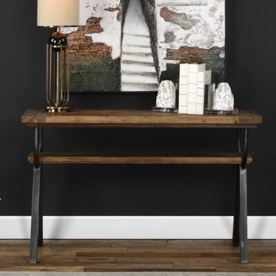 Renee Industrial Console Table