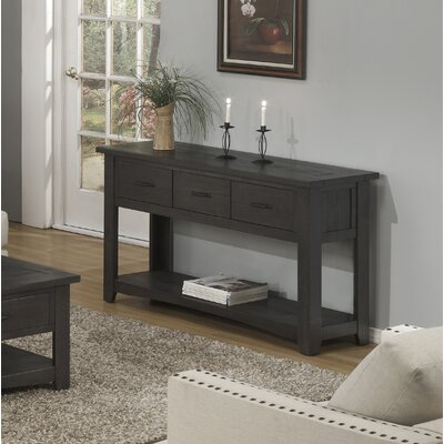 Gillett Console Table Color: Gray