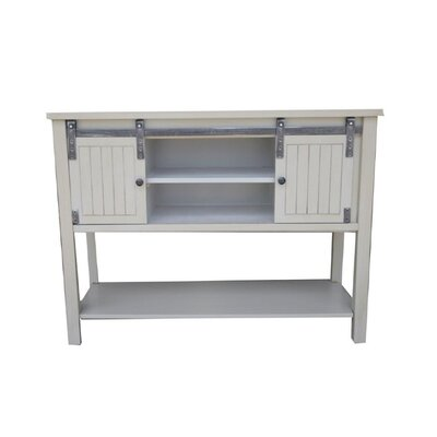 Pfeffer Console Table Color: Sandy Gray