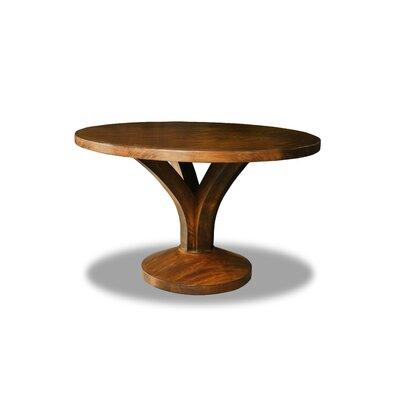 """Paschke Dining Table Color: Cognac, Size: 30"""" H x 60"""" W x 60"""" D"""