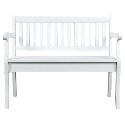 Papa Wood Storage Bench Color: Weathered White