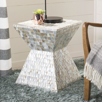 Hinshaw Square Mosaic Accent Stool