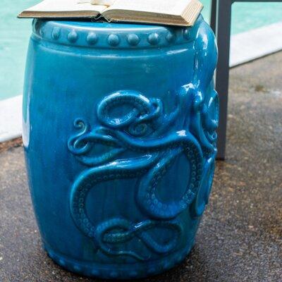 Elizabella Garden Stool Color: Aqua