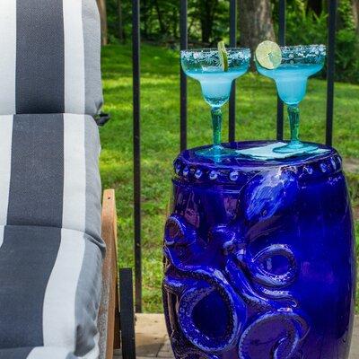 Elizabella Garden Stool Color: Dark Blue