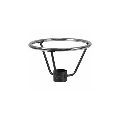 "Basel Bar Height Table Base Foot Ring with Column Ring Size: 12"" H x 16"" W x 16"" D"