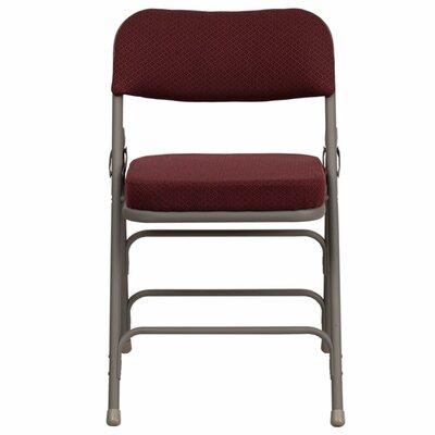 Taylor Folding Chair Color: Burgundy
